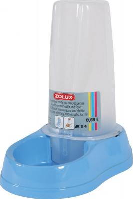 Dispensador mixto antideslizante 0.65 L azul