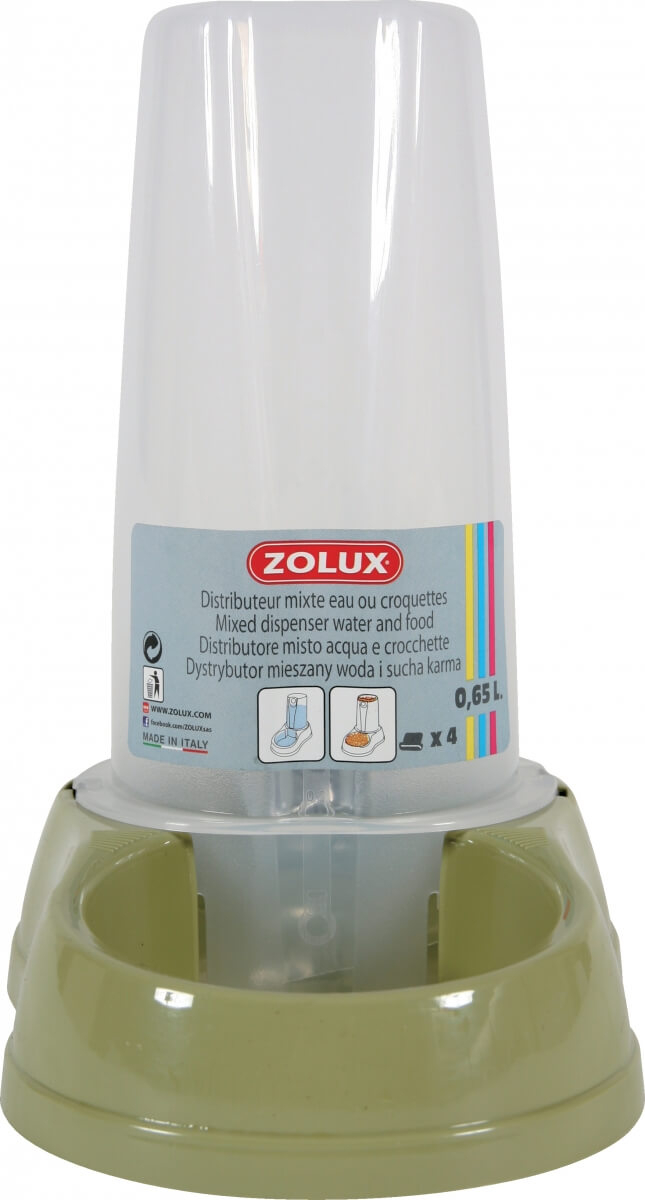 Dispensador mixto antideslizante 0,65 L, verde_1