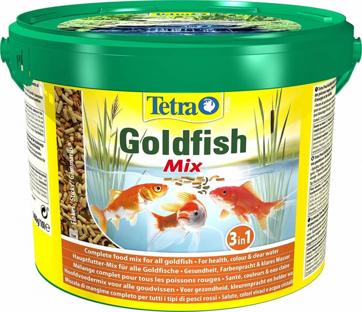 Tetra pond goldfish mix futter f r teichfische for Teichfische futter