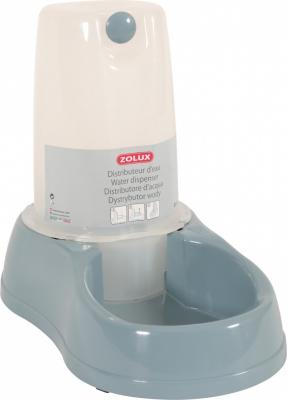 Dispensador de agua antideslizante azul