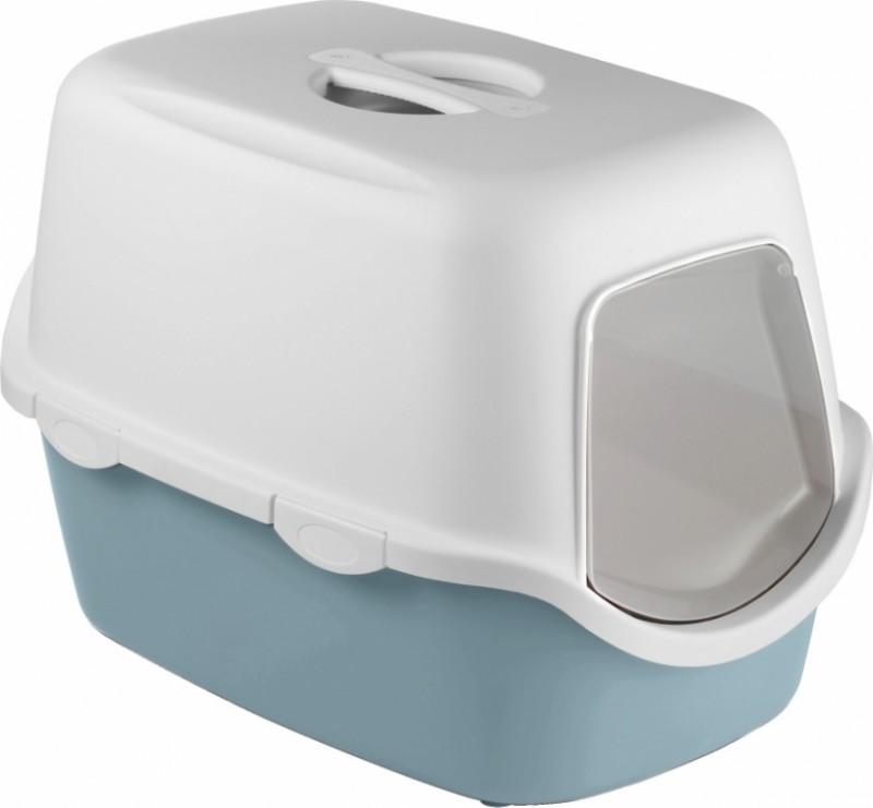 Maison de toilette Cathy avec filtre bleu