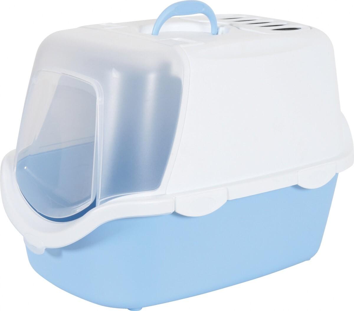 katzentoilette cathy in blau, welche eine einfache  ~ Entsafter Einfache Reinigung