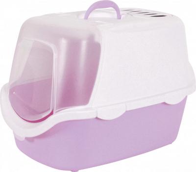 Maison de toilette Cathy nettoyage facile lilas
