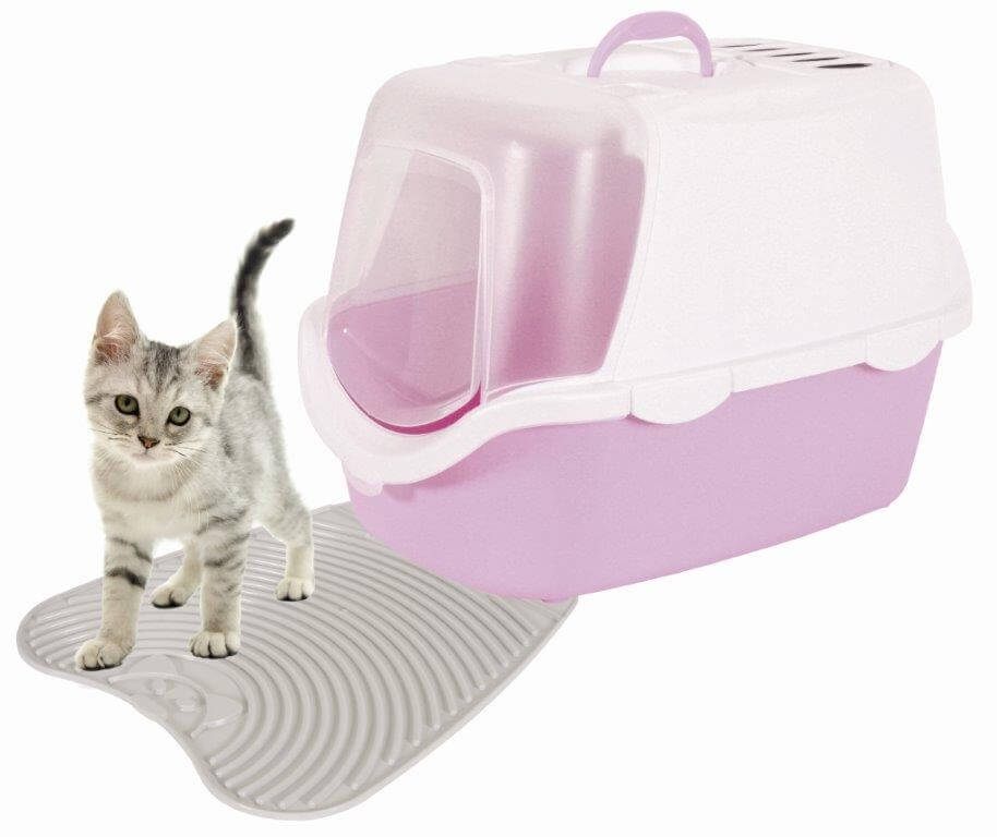 tapis hygi nique pour maison de toilette ou bac liti re accessoires pour liti re. Black Bedroom Furniture Sets. Home Design Ideas