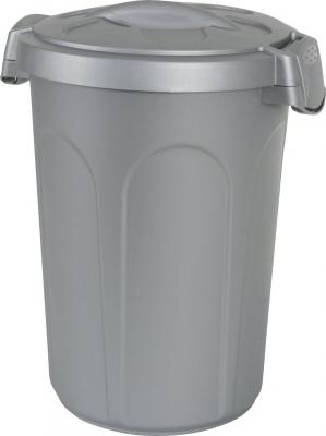 Container plastique gris pour croquettes