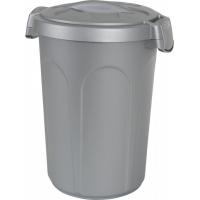 Conteneur plastique gris pour croquettes