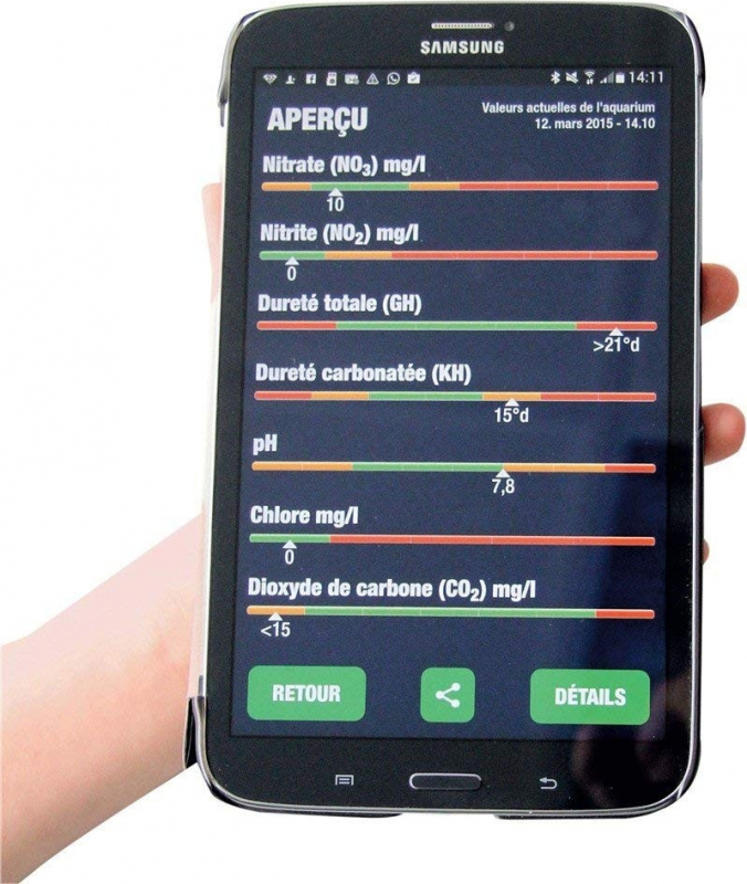 Jbl Test Proscan Analyse De Leau Par Smartphone
