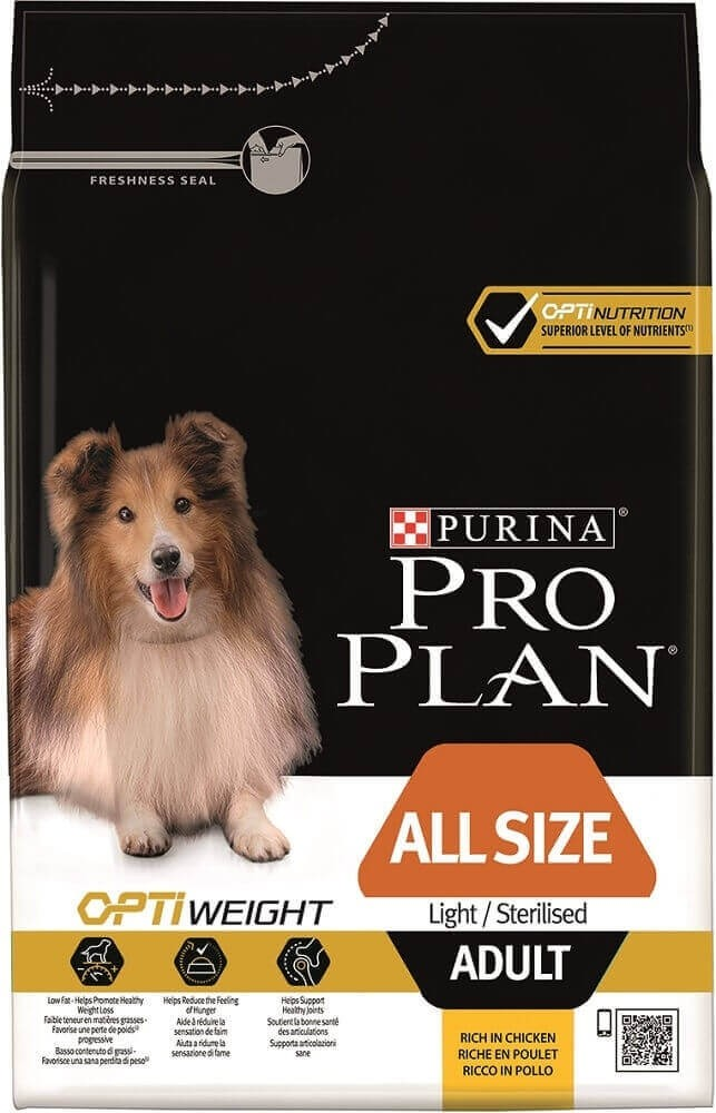 Purina Pro Plan All Sizes Light/Sterilised with Optiweight_0