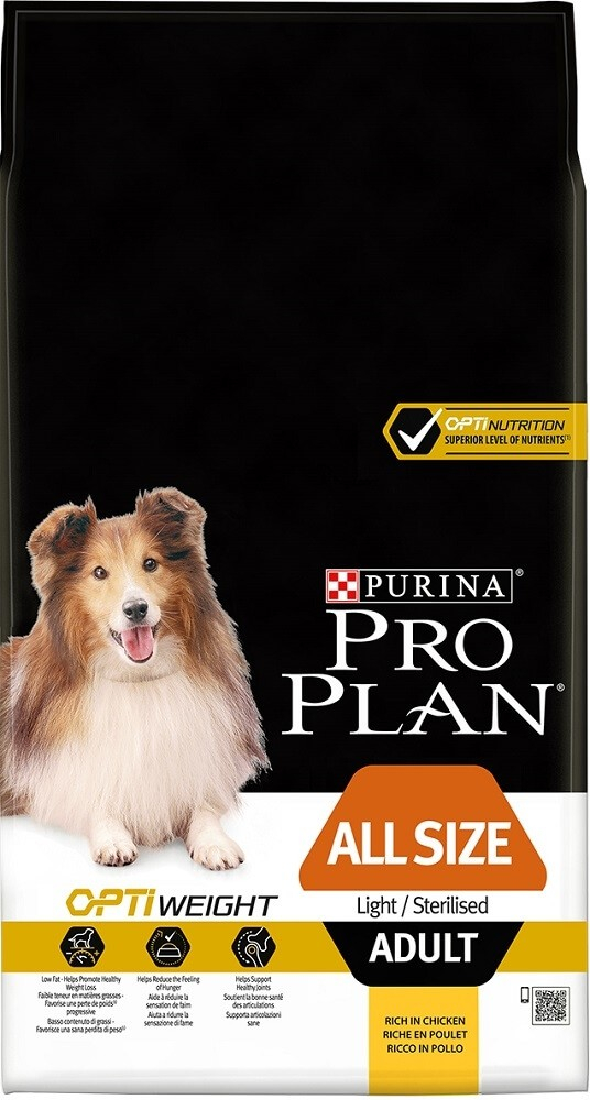 Purina Pro Plan All Sizes Light/Sterilised with Optiweight_3