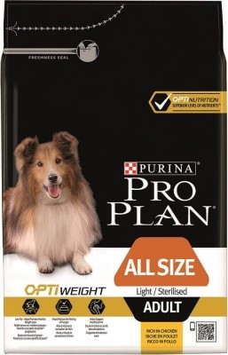 Purina Pro Plan All Sizes Light/Sterilised with Optiweight