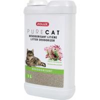 Désodorisant litière chat PURECAT chèvrefeuille 1L