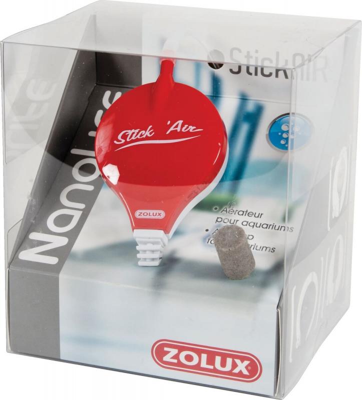 Aérateur Nanolife Stick'Air rouge