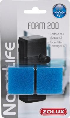 Cartouche mousse pour filtre NanoLife flow 200 (x2)