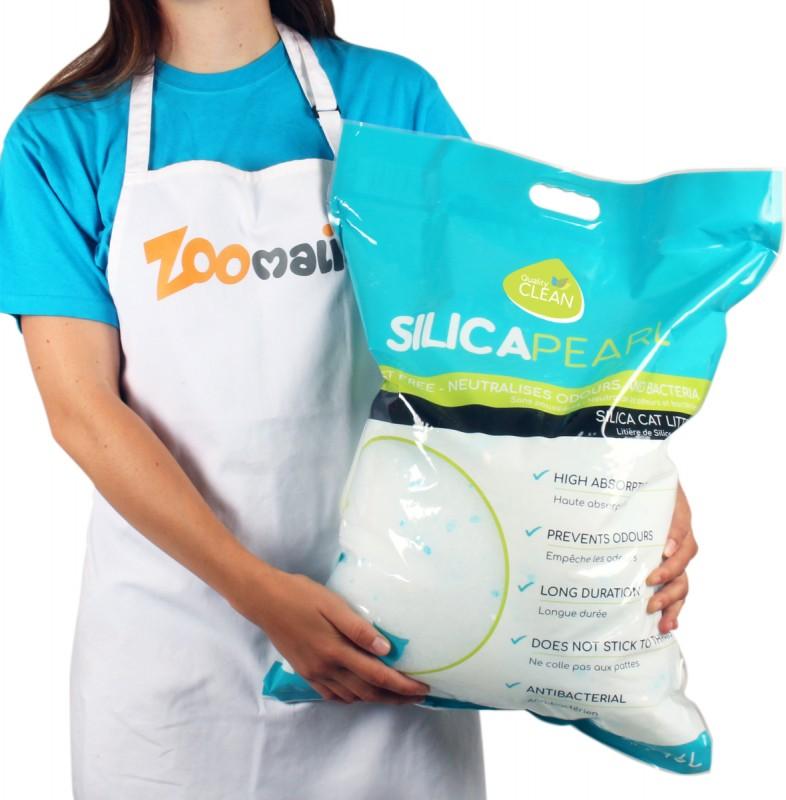 Litière silice pour chat Silica Pearl