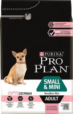 PRO PLAN Chien Small & Mini Adult Sensitive Skin