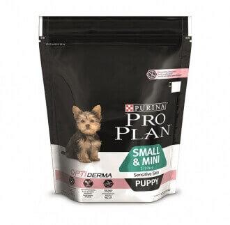 pro plan small mini puppy sensitive skin optiderma croquettes chien. Black Bedroom Furniture Sets. Home Design Ideas