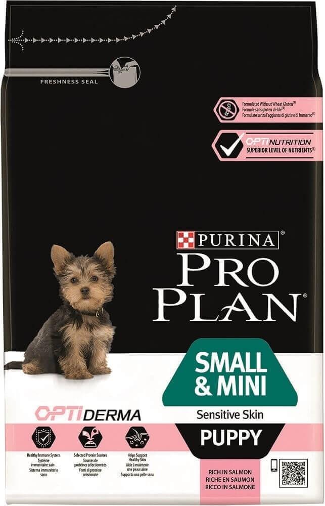 PRO PLAN Small & Mini Puppy Sensitive Skin au saumon ...