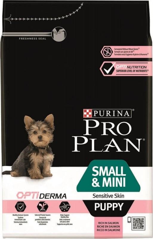 PRO PLAN Small & Mini Puppy Sensitive Skin au saumon