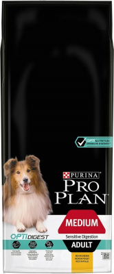 PRO PLAN Medium Adult Sensitive Digestion au poulet