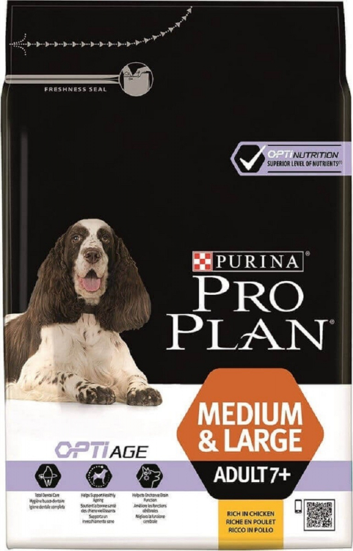 PRO PLAN Chien Medium & Large Adult 7+