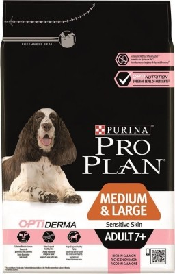 Pro Plan Medium & Large Adult 7+ Sensitive Skin OPTIDERMA