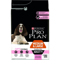 PRO PLAN Medium & Large Adult 7+ Sensitive Skin au saumon