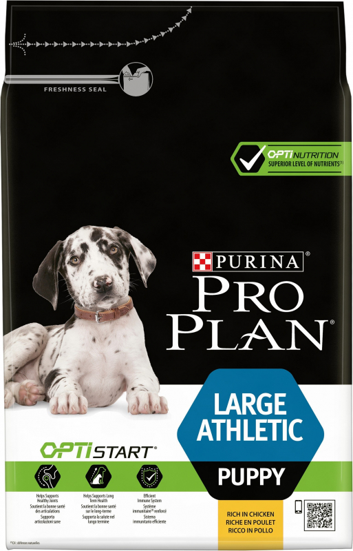 PRO PLAN Large Athletic Puppy au poulet