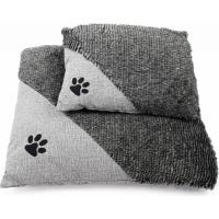 Coussin ZOLIA Cady gris de 60 à 90cm pour chien et chat (6)