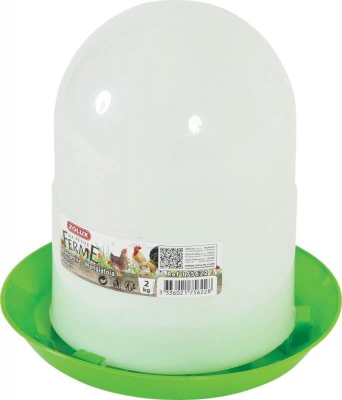 Mangiatoia silo di plastica