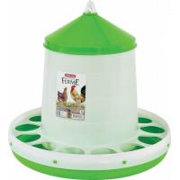 Mangeoire silo en plastique