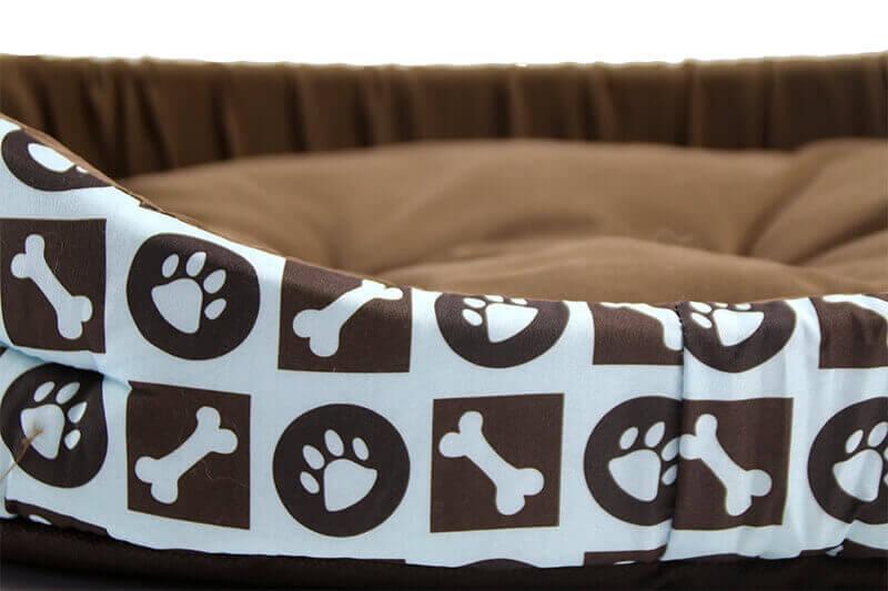 Panier avec motif MILA pour chat et chien_2