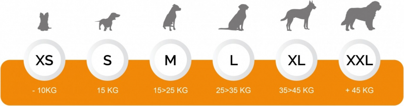 Körbchen MILA bedruckt für Hunde und Katzen - 51, 63 und 77 cm