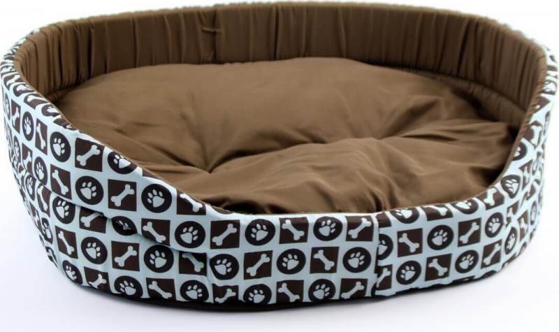 Panier avec motif MILA pour chat et chiens - 51, 63 et 77cm