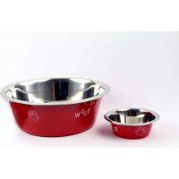 RUBY Stainless steel coloured bowl