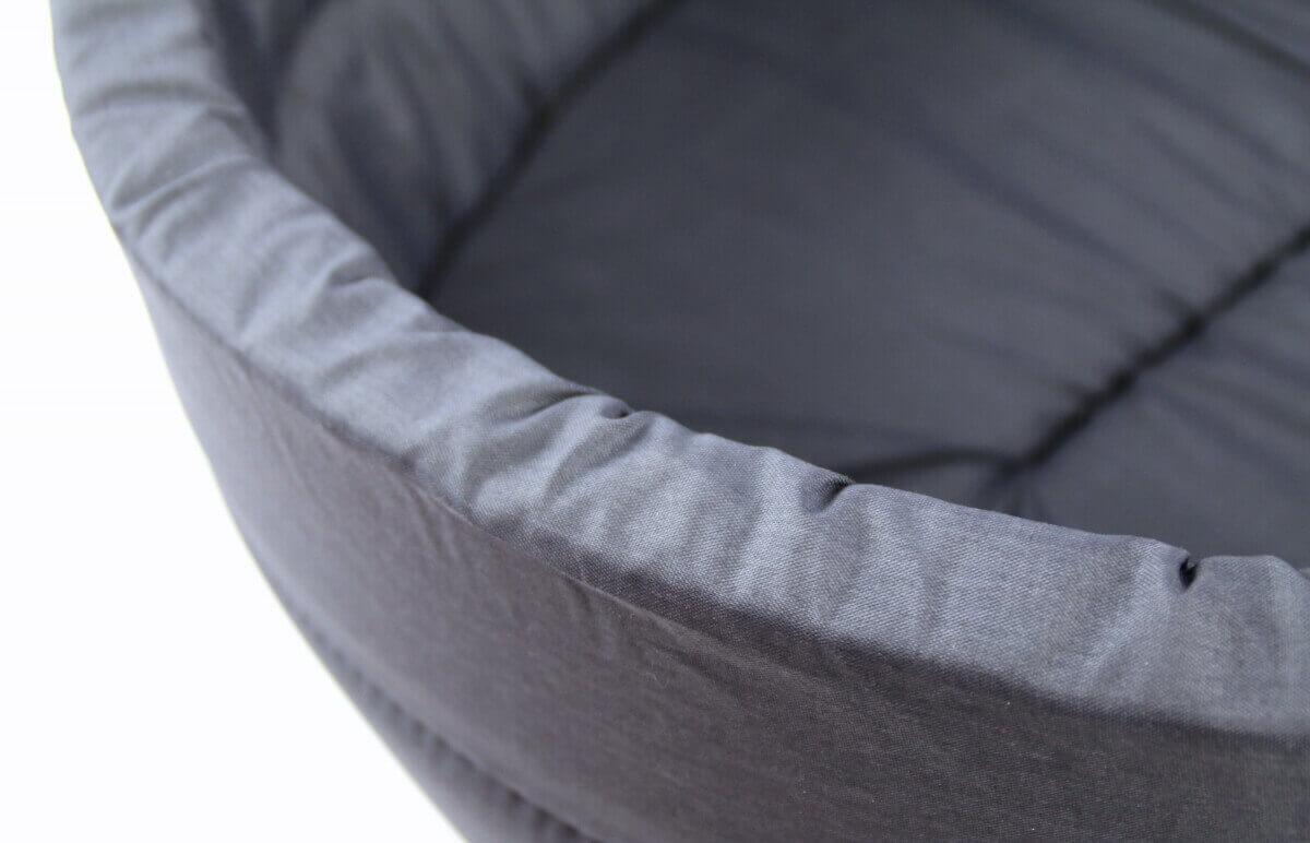 Corbeille ZOLIA mousse grise toutes tailles_3