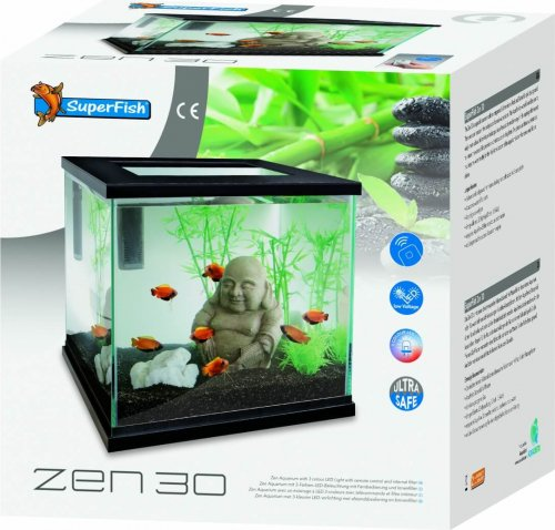 Aquarium zen 30 Superfish - blanc ou noir_2