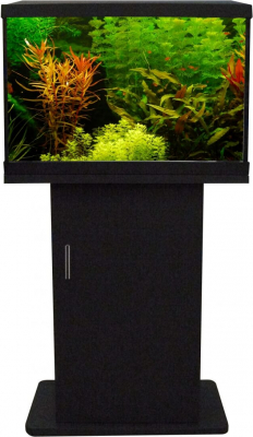 Meuble noir pour aquarium expert 70 SUPERFISH