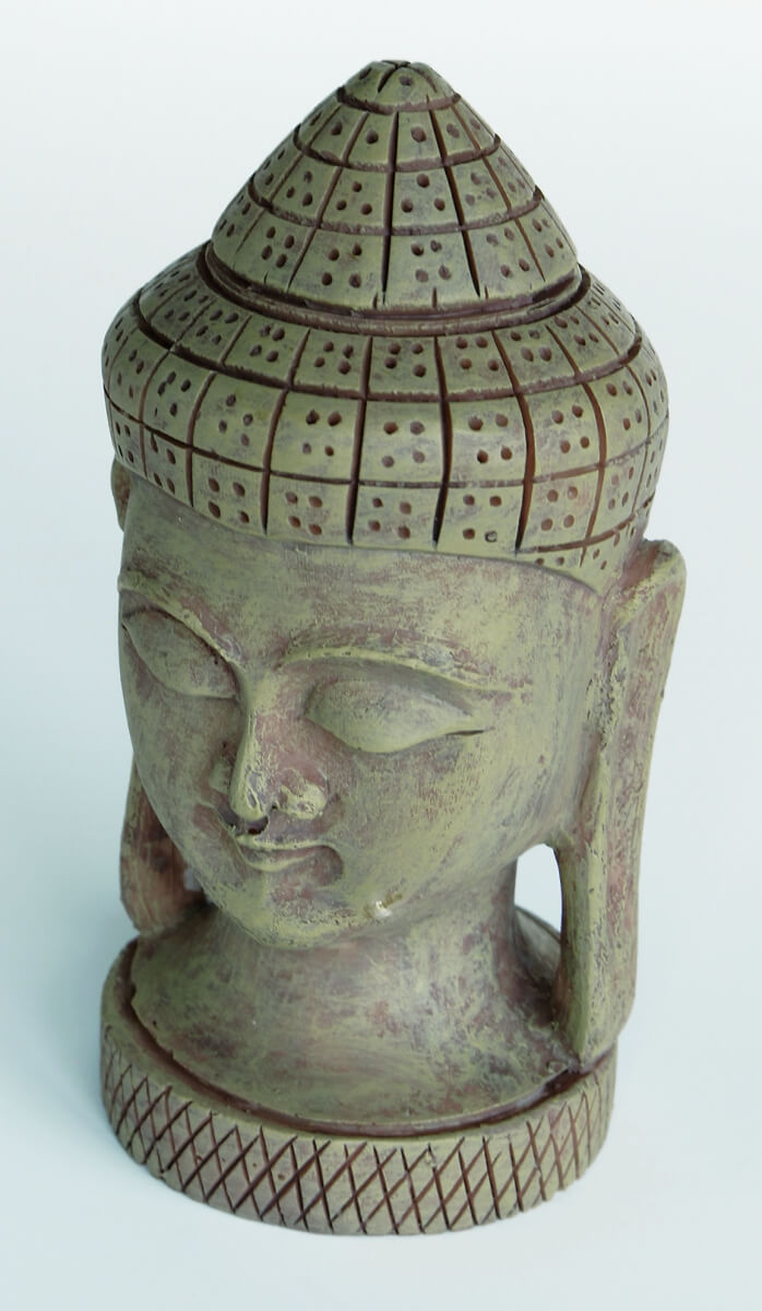 zen buddha head xl decoration fancy decoration. Black Bedroom Furniture Sets. Home Design Ideas
