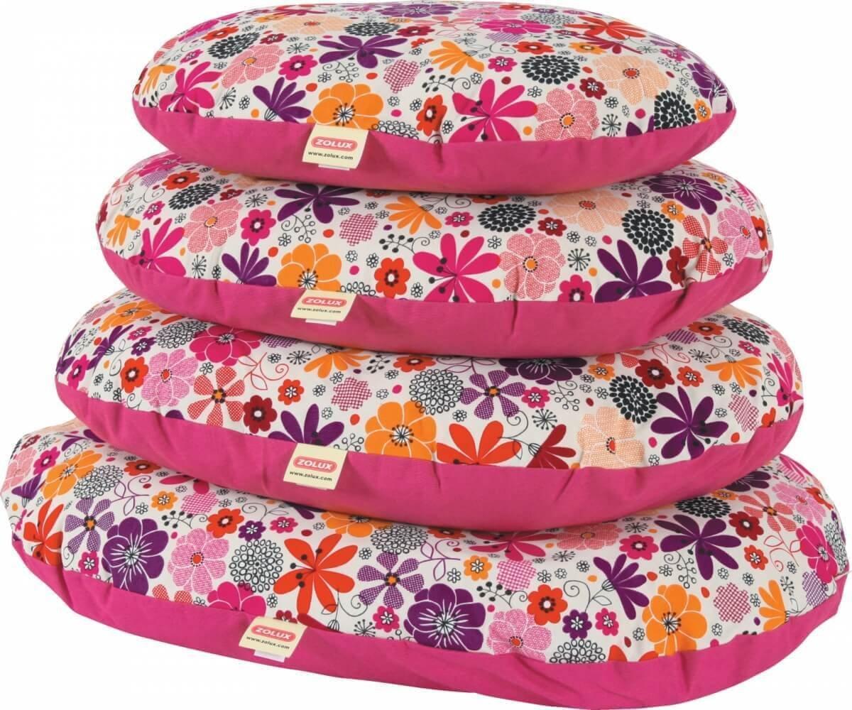 kissen mit abziehbaren berzug bella rosa kissen und teppiche. Black Bedroom Furniture Sets. Home Design Ideas