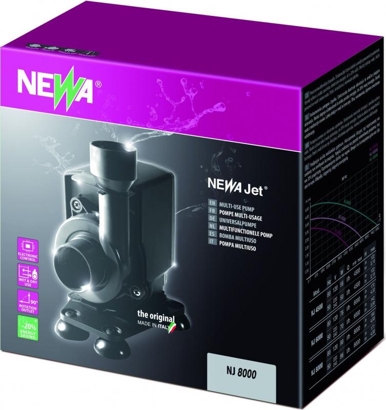 NEWA Pompe NewJet NJ8000 débit de 8000 l/h
