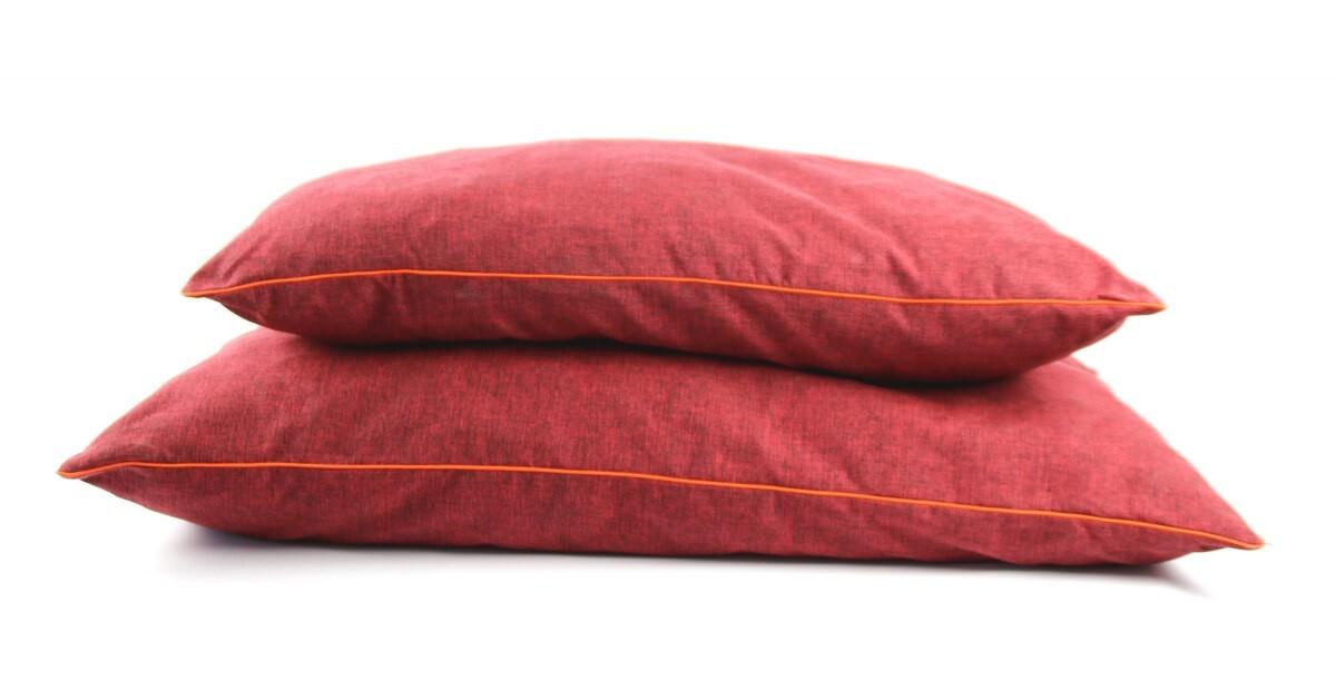 Coussin Oreiller Design Grandes Tailles Rouge Coussin Et Tapis Chien