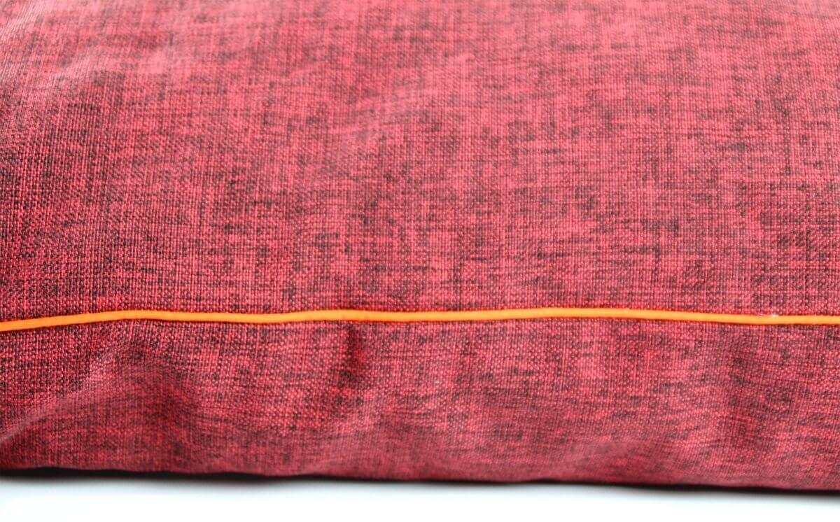 coussin oreiller design grandes tailles rouge coussin et tapis. Black Bedroom Furniture Sets. Home Design Ideas