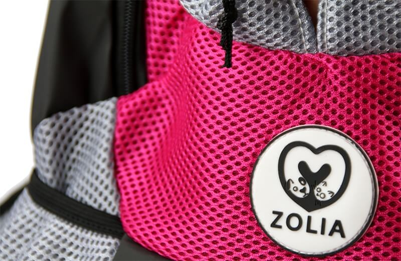 Sac à dos ZOLIA SHELLY rose_4