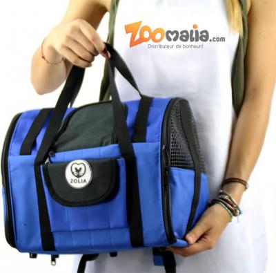 Sac de transport ZOLIA CALIO 2en1 bleu et noir