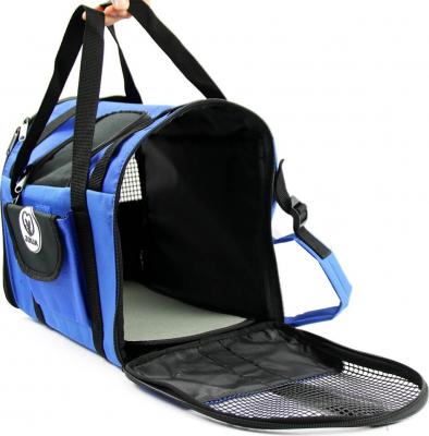 Tragetasche CALIO 2in1, blau und schwarz