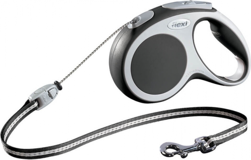 Flexi Vario Retractable Cord Lead - Anthracite
