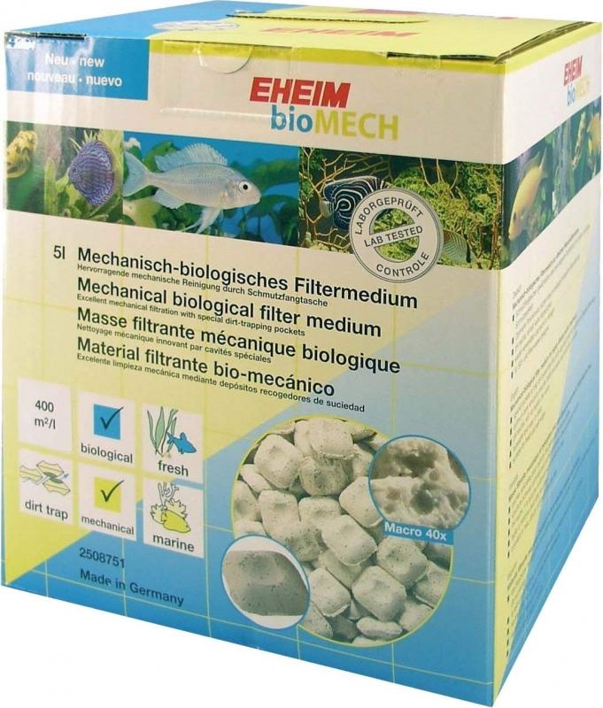 EHEIM BioMech Filtration mécanique et biologique