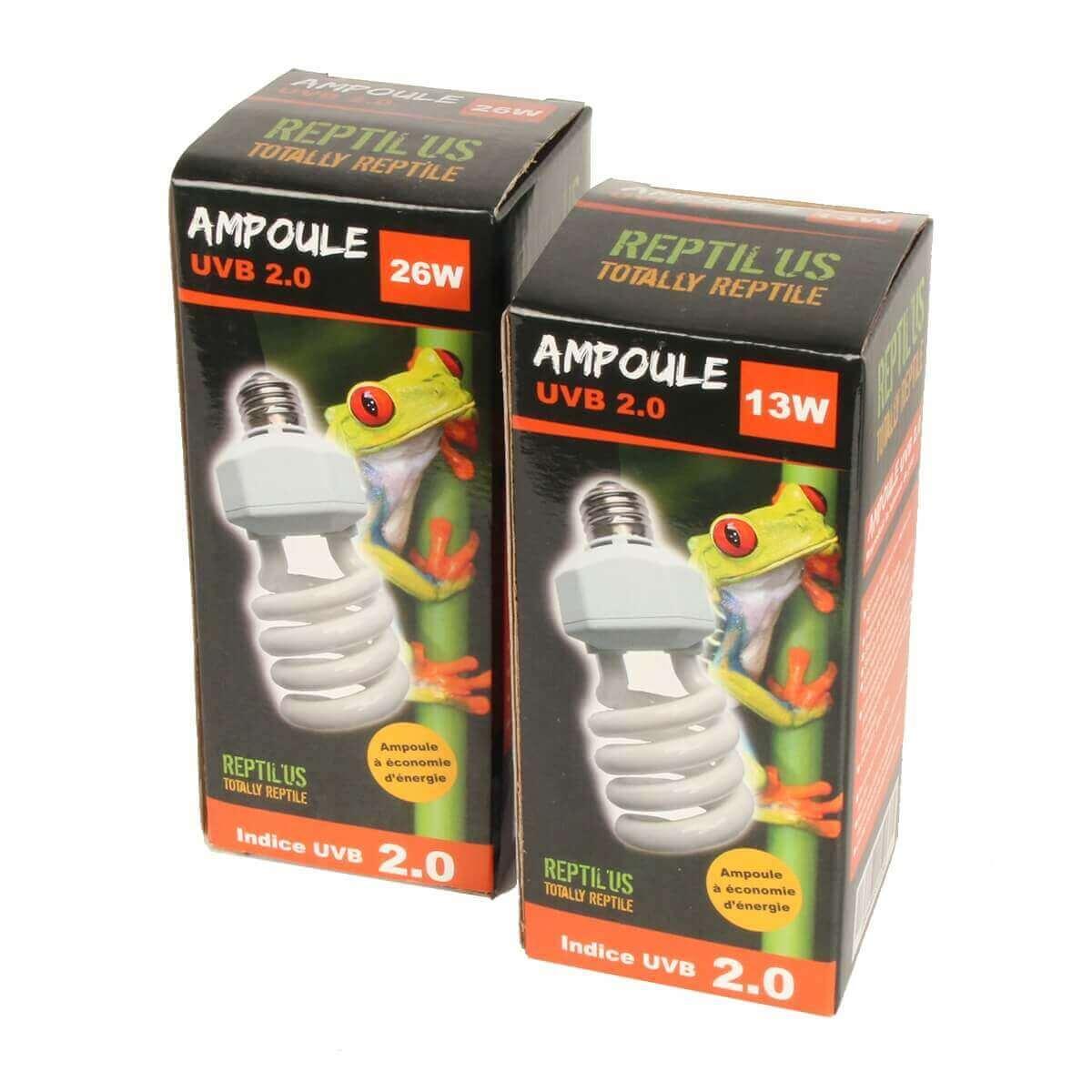 Ampoule Reptile UVB 2.0 Lumière du jour_3