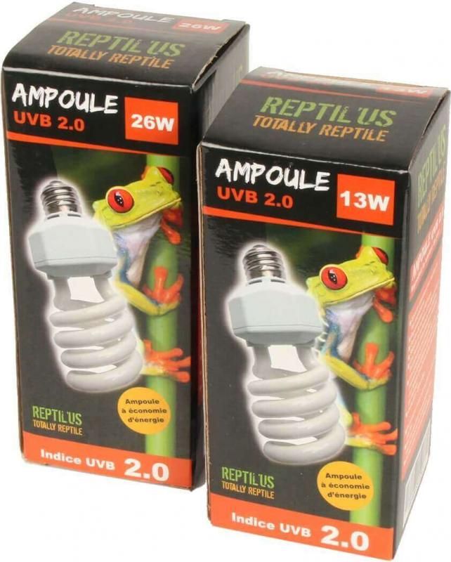Ampoule Lumière du jour Reptil'us