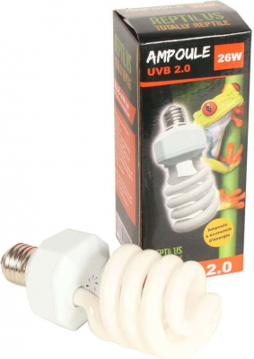 Ampoule Reptile UVB 2.0 Lumière du jour